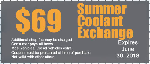 Online printable Coupon Coolant flush and fill at T & J Tire and Auto Service 100 West 9th Street Anderson, IN 46016