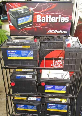 AC Delco batteries auto service Anderson Indiana